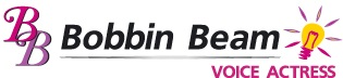 Female Voice Talent Bobbin Beam